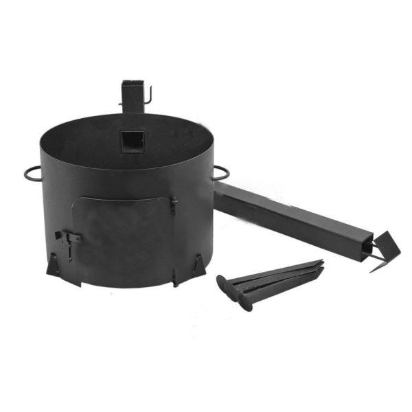 печь с трубой 1