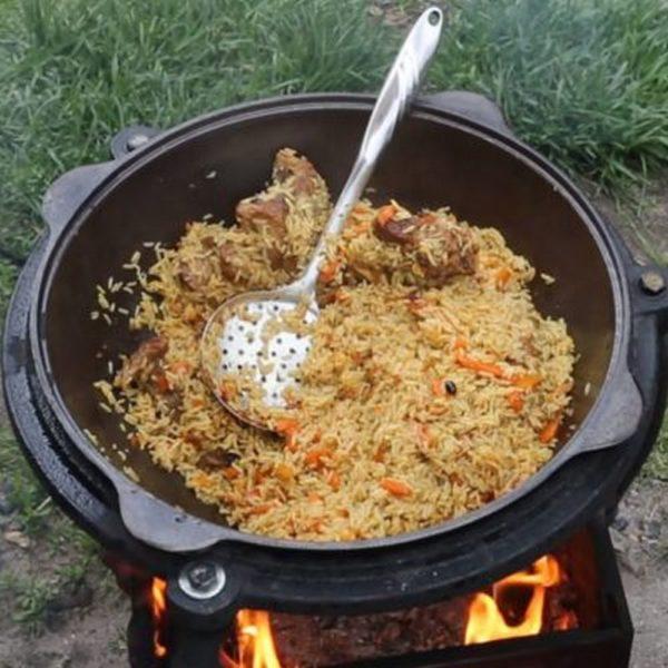 казан узбекский чугунный 9